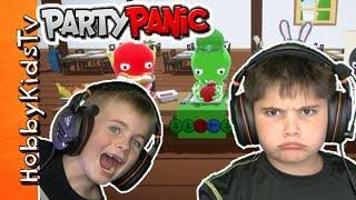 Party Panic Video Game with HobbyPig and HobbyFrog