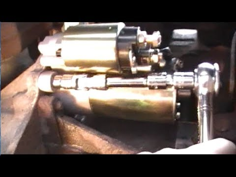 easiest, fastest way to replace crown victoria starter