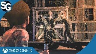 The Walking Dead: The Final Season Episode 4 | Walkers Dancing Glitch