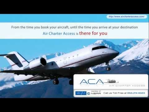 Aircharteraccess.com, for On-Demand Private Air Charter Flights