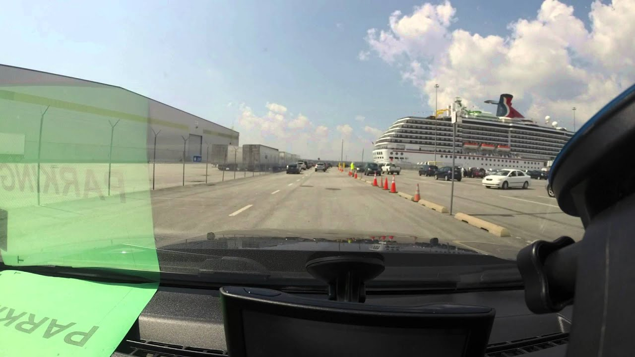 Carnival Port Of Baltimore DiveParking Time Lapse YouTube - Parking at baltimore cruise ship terminal