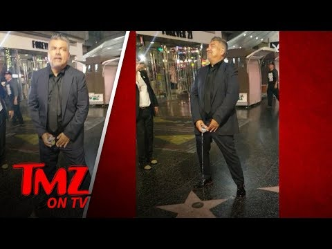 President Trump's Star Degraded By George Lopez | TMZ TV