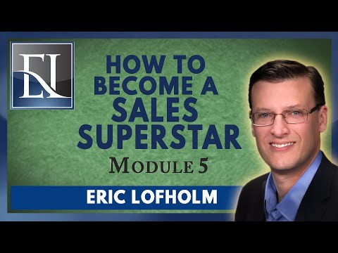 How To Become A Sales Superstar - Module 5