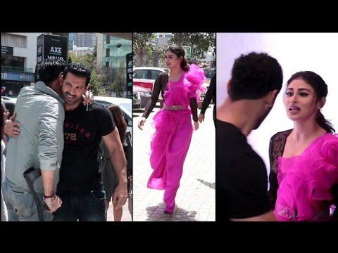 Indian RAW Agent Arrives At Romeo Akbar Walter Trailer Launch | John Abraham, Mouni Roy