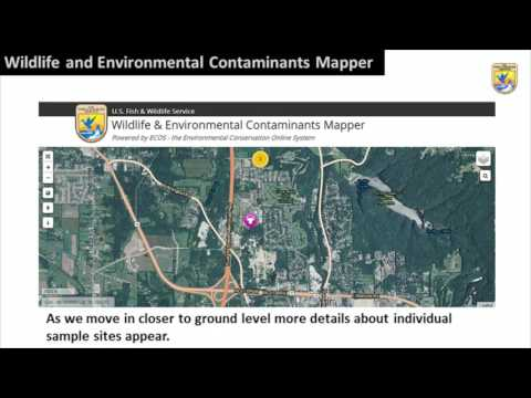 Overview of the Environmental and Wildlife Contaminants Mapper