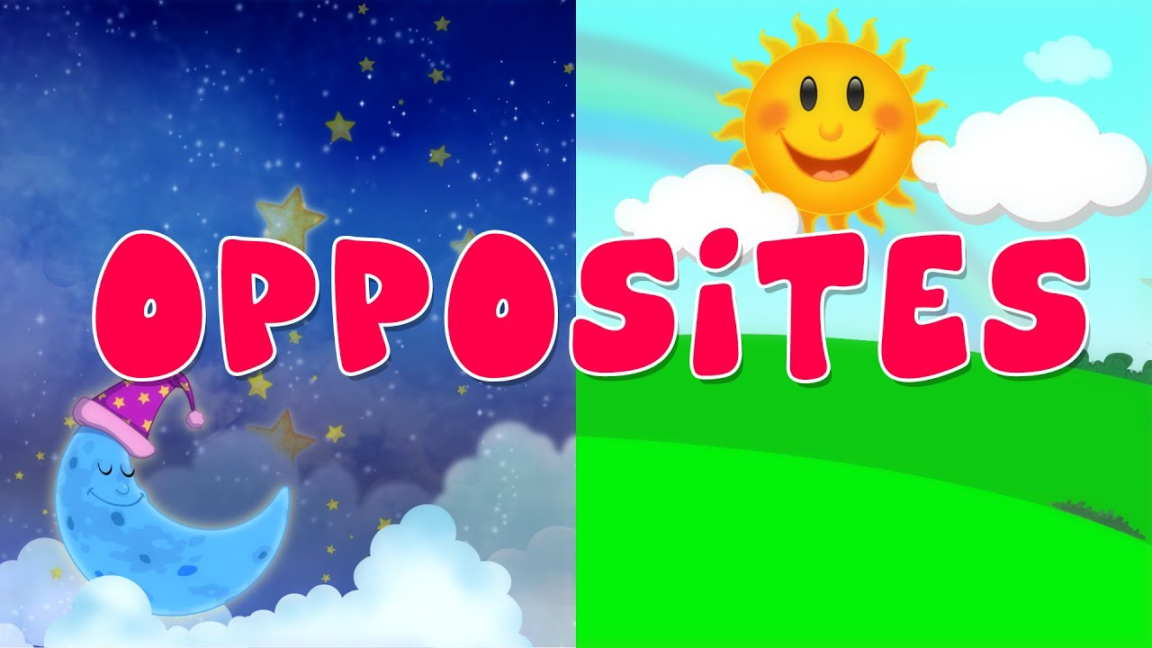 opposite songs for preschool opposites song nursery rhyme for kids youtube