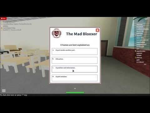 [Full Download] Roblox University All Answer For 4 Tests ...