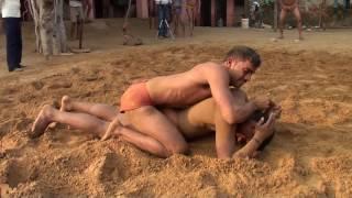 Indian Wrestling -- Wrestlers at Guru Samandar Akhara 5