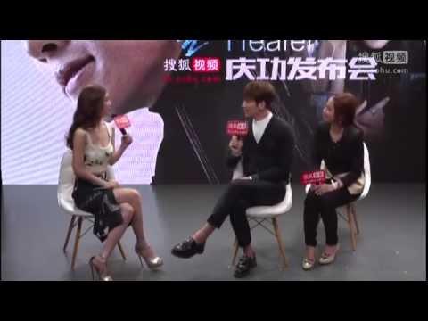 """[Eng Sub] Ji Chang Wook in Beijing - Sohu """"Healer"""" congratulatory event"""