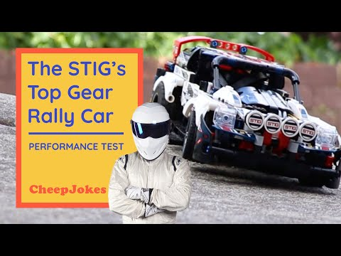 LEGO 42109 The STIG Top Gear Rally Car Gets Performance Tested! | LEGO | CheepJokes