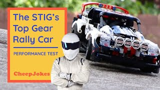LEGO 42109 The STIG Top Gear Rally Car gets performance tested! | LEGO | CheepJokes