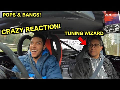 SKYLINE Get's G4+ LINK ECU INSTALLED *ROAD MAPPING* Crazy Reaction!