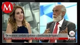 AMLO no dijo nada nuevo en Primer Informe: Diego Fernández de Cevallos