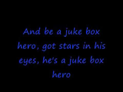 Foreigner- Juke Box Hero With Lyrics