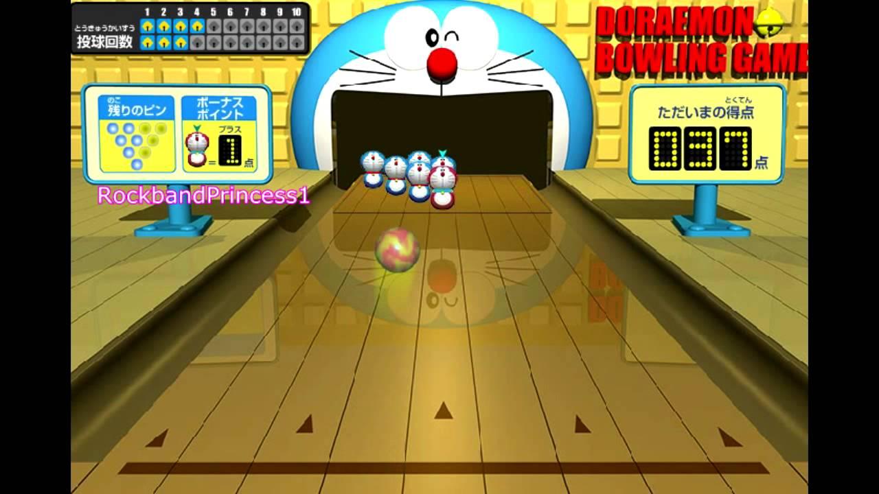 Doraemon Games To Play Doraemon Bowling Game Youtube