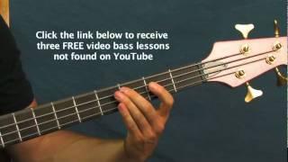 online bass guitar lesson plush stone temple pilots
