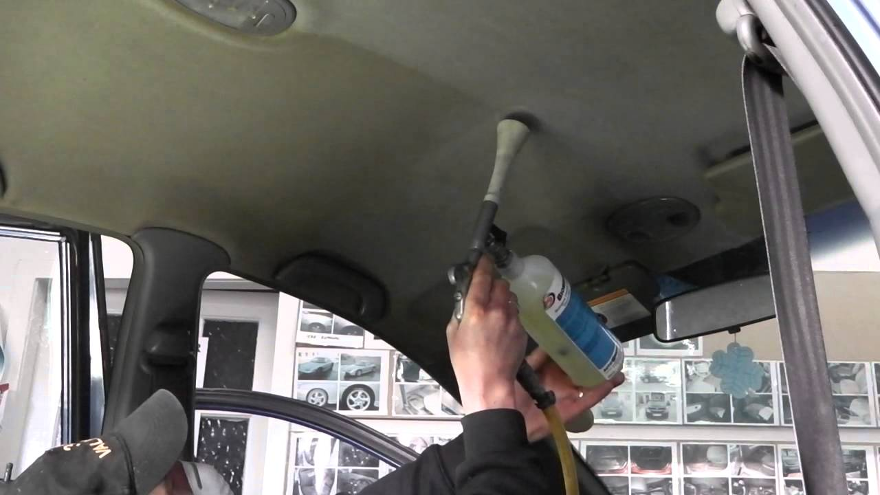 car interior roof cleaner	  Roof Lining Cleaning at 3CValeting Perth - YouTube