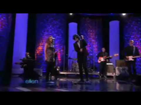 """Pete Yorn and Scarlett Johansson """"Shampoo"""" on The Ellen Show including behind the scenes"""