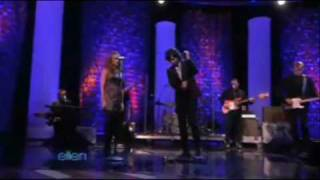 "Pete Yorn and Scarlett Johansson ""Shampoo"" on The Ellen Show including behind the scenes"