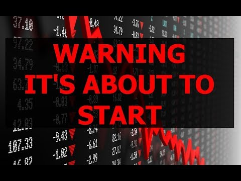 WARNING – NEXT STOCK MARKET CRASH IS ABOUT TO START
