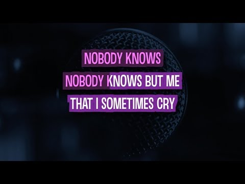 Nobody Knows Karaoke Version by Pink (Video with Lyrics)