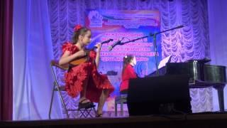 Выступление на конкурсе Страна детства  2016