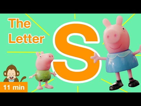 learning-videos-for-toddlers:-peppa-pig-&-george-are-learning-all-about-the-letter-s!-(2019)-4k