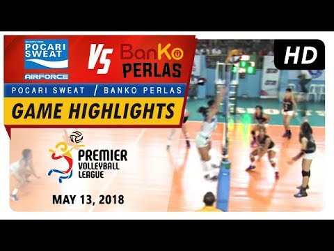 PVL RC Season 2 - WD: Air Force vs. Perlas Spikers | Game Highlights | May 13, 2018