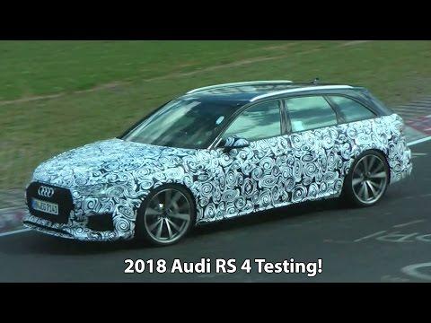 2018 Audi RS4 testing at the Nurburgring (1080)