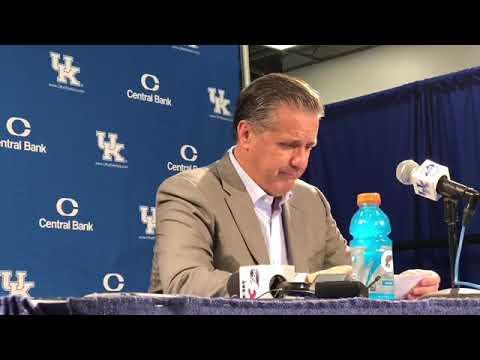 Kentucky HC John Calipari - SIU Postgame