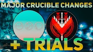 Gambar cover MAJOR Crucible Changes, Trials/Elimination, & Super/Orb Nerfs (TIMESTAMPED) | Destiny 2 News