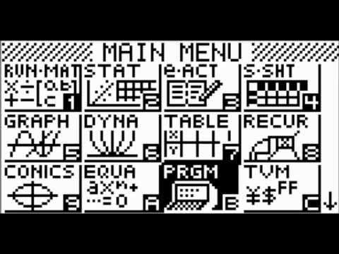 [Basic Casio #1] Créer un programme et premières fonctions