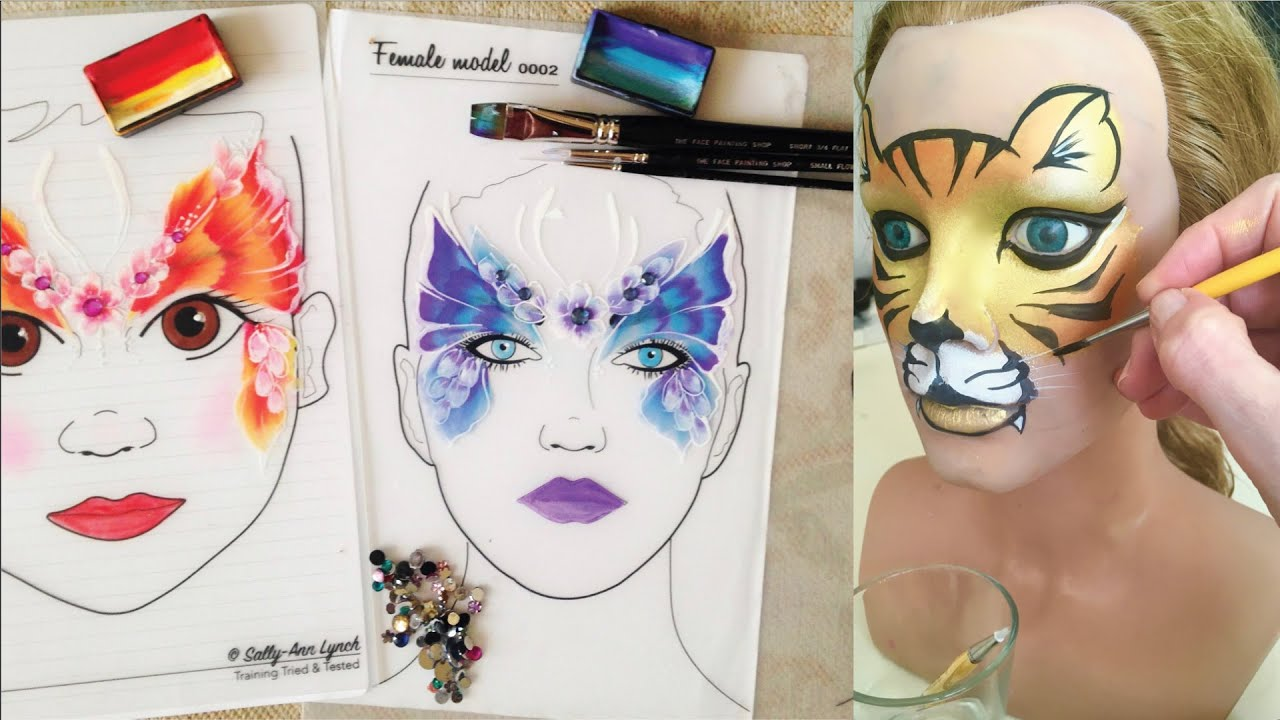 fun face painting practice without kids face painting made easy