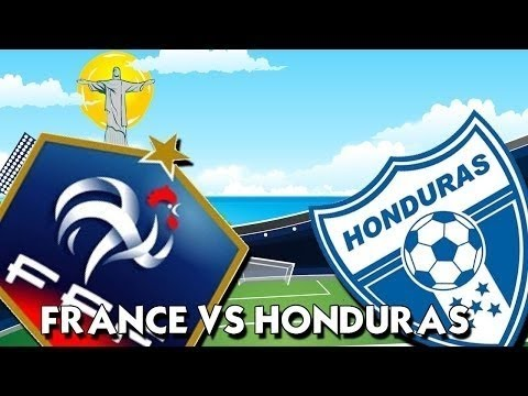 France 3 vs Honduras 0 (Brazil 2014 World Cup Group Stages) highlight Goals