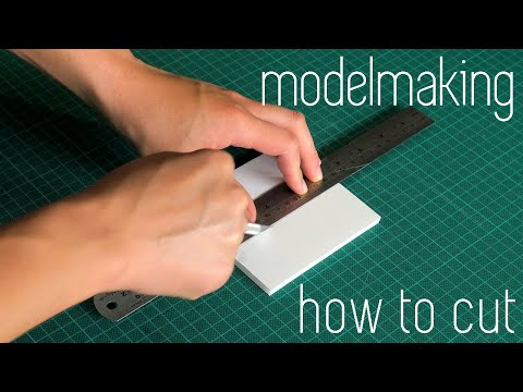 how-to-cut-|-architecture-modelmaking-101