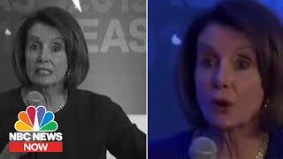 Breaking Down The Altered Speaker Nancy Pelosi Videos | NBC News NOW