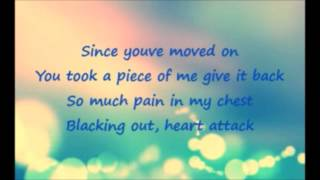 You were like my beating heart lyrics