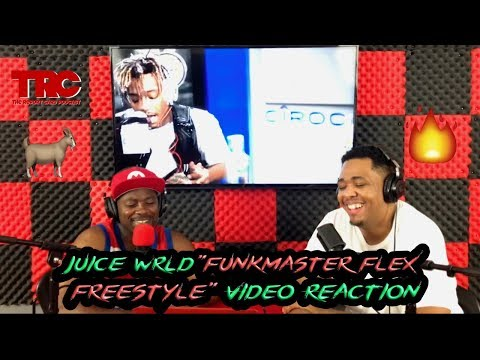 Juice Wrld Funkmaster Flex #FREESTYLE101 Reaction *FIRE*