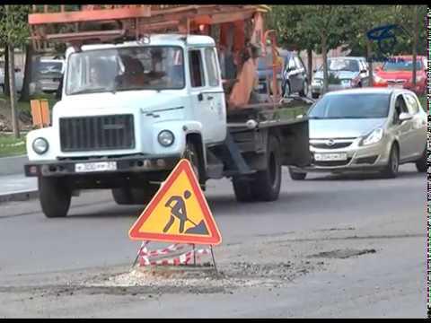 В Белгороде продолжается ремонт дорог