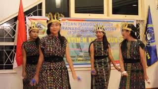 Tarian lipa songke budaya manggarai NTT