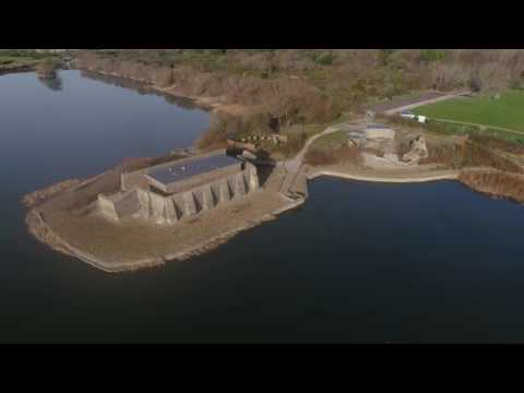Sinah Common Hayling Island, WW2 Heavy Anti-Aircraft Site By Drone 4K