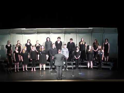 """Selah High School Choir Sings """"Hallelujah"""" by Leonard Cohen"""