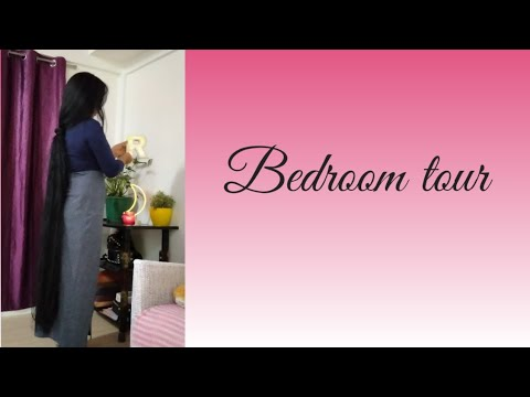 small-bedroom-makeover-|-#dailyvlog-#longhair-#nightroutin-#woman-#beautiful