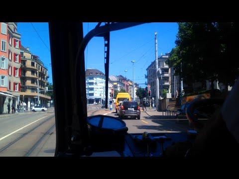 VBZ Zürich Tram | Linie 14: Triemli - Seebach | SWS/SWP/SIG Be 4/6 'Tram 2000'