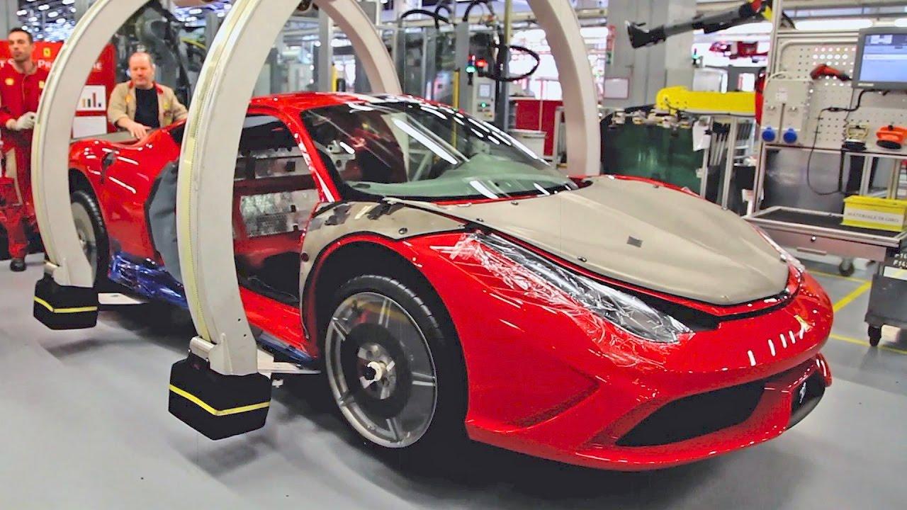 Ferrari Factory Youtube