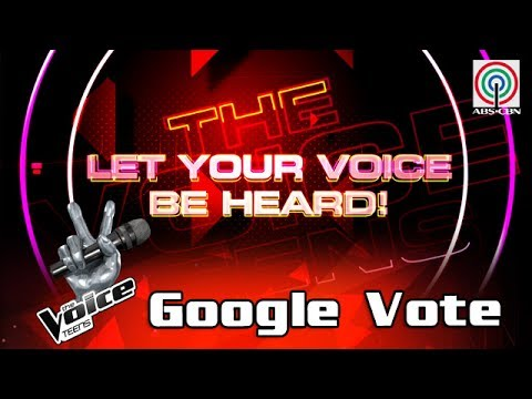 The Voice Teens Philippines: Google Voting Mechanics for Semifinals