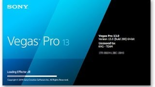 How to get sony Vegas Pro 13 FREE (Crack Included,Download)