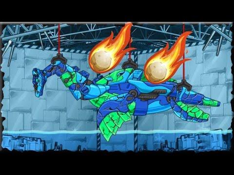 Repair Dino Robot Deep Plesio Full Game Walkthrough