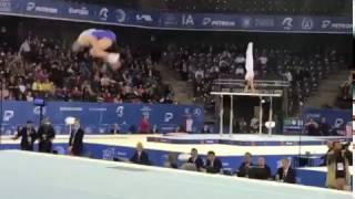 Дмитрий Ланкин ЧЕ 2017 Вольные, Квалификация