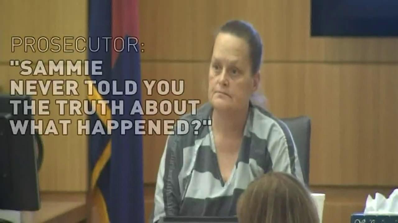 Sammantha Allen's mother testi...